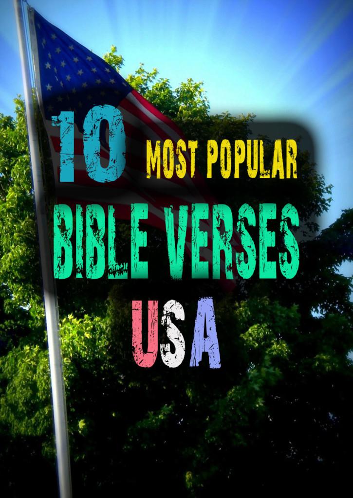 10 bible popular top verses most 10 Popular
