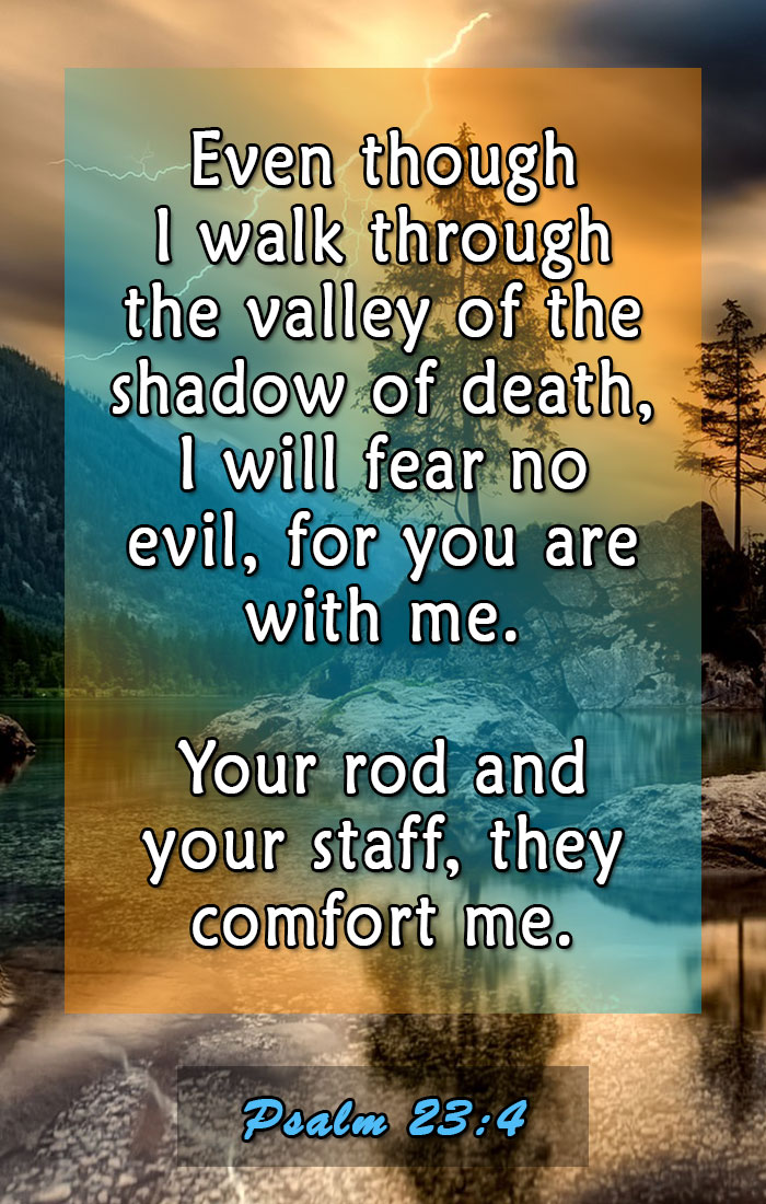 psalm 23 4 favorite bible verses 1 elijah notes